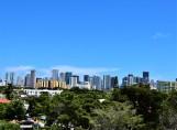 Iconic Miami skyline